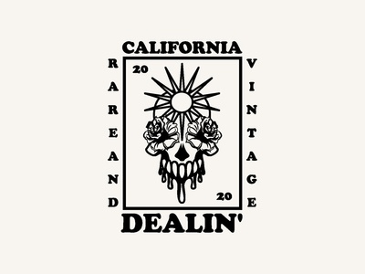 CALIFORNIA DEALIN' LOGO DESIGN