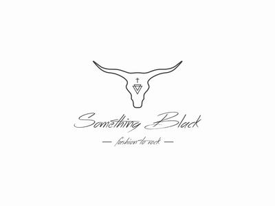 Something Black Logo Design