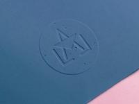Lala Letter Logomark Emboss