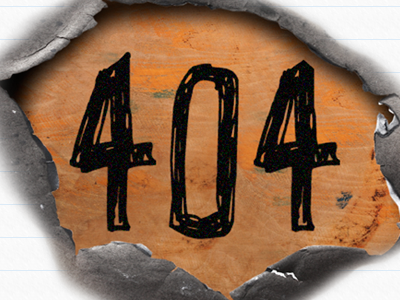 404 - Experiment gone wrong 404 wood scribble