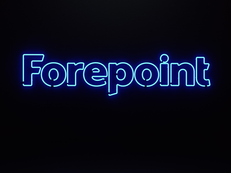 Neon Brand Sign by Forepoint on Dribbble