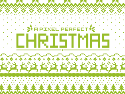 Pixel Perfect Christmas christmas pixel
