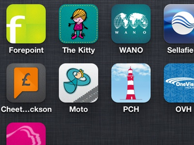 iOS Client Website Bookmarks iphone icons icon ios
