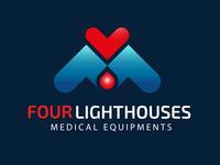 FOUR LIGHTHOUSES LOGO