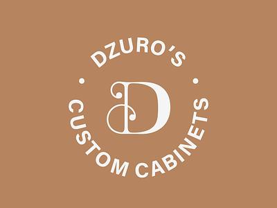 Dzuro's Launch Seal type ventura cabinets seal lettering typography design logo branding