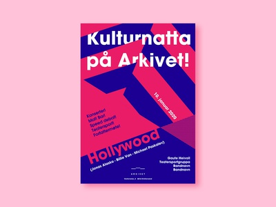 Kulturnatta - poster design