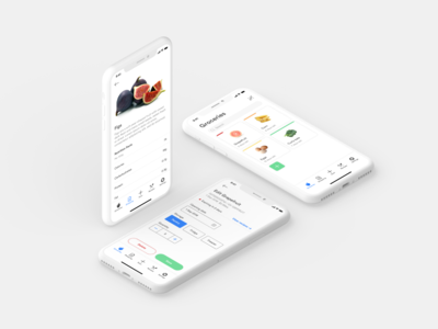grocery management grocery online grocery list grocery app grocery groceries mobile ux app ui design