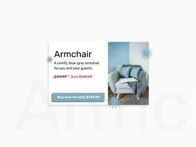 Special offer | Daily UI #036 blue-gray blue-grey buy dailyui036 dailyui 036 daily ui 036 036 sale discount special offer maximalist ecommerce shop interface dailyui design ux figma ui