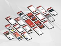 'Binger' iOS App Design Concept — 3D