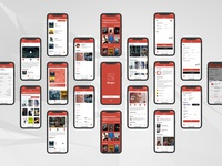 'Binger' iOS App Design Concept