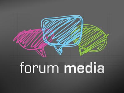 Forum media logotype