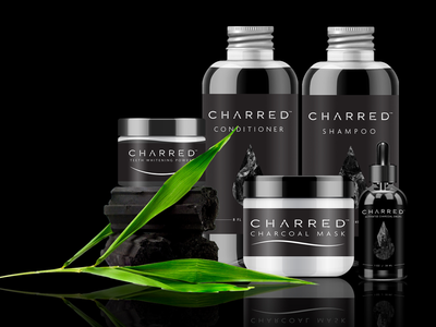 Product Design package design packaging heath activated charcoal logo design label design branding graphic design