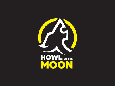 Howl at the moon. wolf illustration wolf logo artist graphic design logo design illustrator vector illustration logo wolf