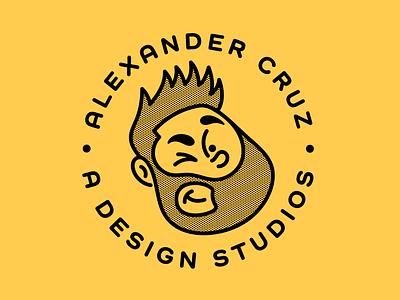 Illustration Portrait artist art logo design vector graphic artist illustrator logo illustration branding graphic design