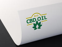 Bio CBD Oil Logo Design