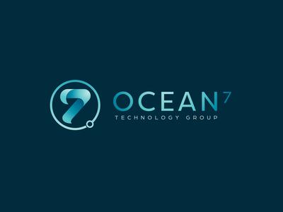 Oceans 7 Logo Design