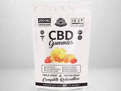 Illuminati CBD Gummies Label Design