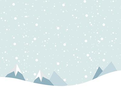 Let It Snow! landscape mountains winter snow