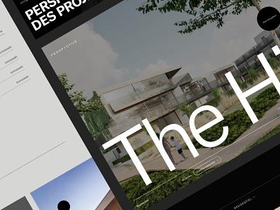 Real Estate Investment Website interface webdesign ui grid minimal website