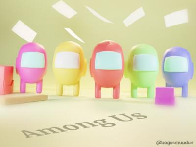 3D Among Us 3d