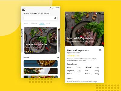 Cook Apps design uiux uidesign ui