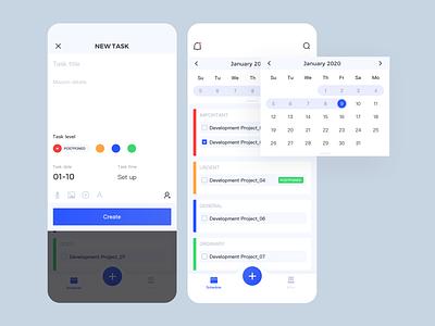 Coordination tool ux app ui design
