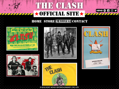 The Clash - Website 1977 punk the clash