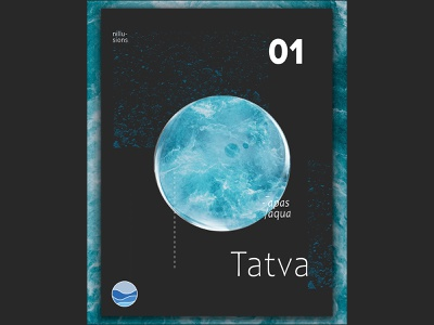 Tatva \Water newshot nillusions black posterart poster design icon abstact graphic design design postereveryday poster
