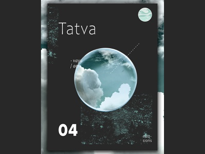 Tatva | Air art abstract psoter abstract art black graphic design poster design poster abstact postereveryday nillusions design