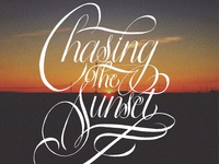 Chasing The Sunset
