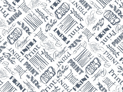 Print Pattern graffiti typography patterns dust jacket editorial magazine cover pattern copperplate brushlettering gothic script blackletter handlettering calligraphy lettering