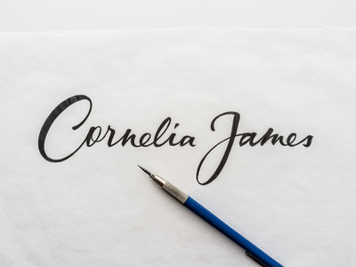 Cornelia James Final Pencil Sketch
