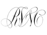 RVM Monogram Sketch