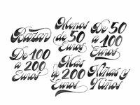 El pais joan quiros lettering
