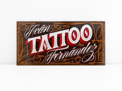 Ivan Fernandez Tattoo