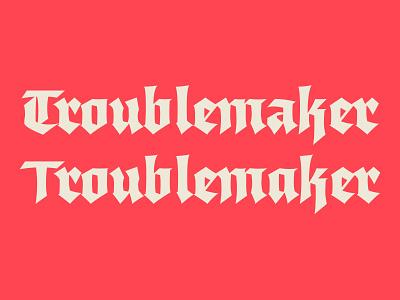 Bruma Typeface type typography type design font bruma gothic typeface blackletter