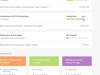 eLearning Dashboard