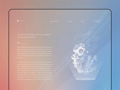 1 1 website illustration ux type web ui design