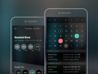 Workout App Concept