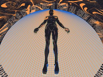 🌐🌎🌑 trip abstract psychedelic visionary woman sleep acid textures spiritual astral distressed illustration mexico guadalajara