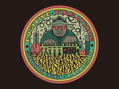 Mad Professor music synthesizer synth professor reggae dub lab mad professor textures design illustration mexico guadalajara