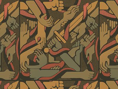 Gram, Durendal, Joyeuse, Excalibur ⚔️ vector textures swords sword snake pattern mexico illustration hands hand halftone guadalajara gradient design