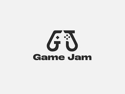 Game Jam vector mexico guadalajara mark icon negative space branding logo gamer gaming development video game game development