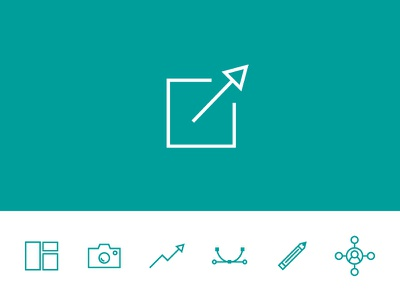 Daily UI #010 - Share Button photo iconset icon design graphic media social share ui daily dailyui daily100