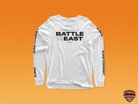 Battle for the East - Long Sleeve Shirt branding design tournament gaming esports merchandise merch design branding