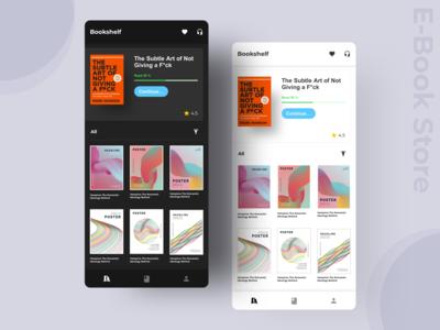 E - Book Store Concept App