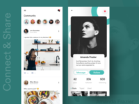 Connect & Share Community app
