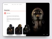 Art Motion Website Concept