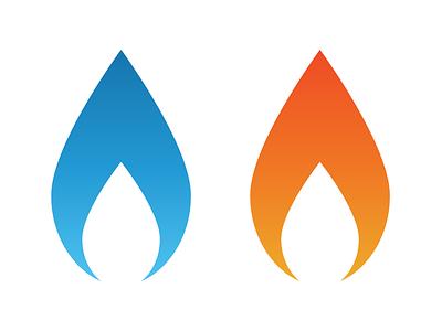 Gas Heater Specialist identity vector design identity design brand identity brand design logo branding
