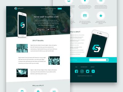 Splyt Website design web website